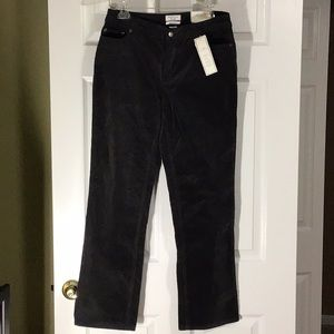 LAST CHANCE-CHARTER CLUB Corduroy Pants Sz 6 Short